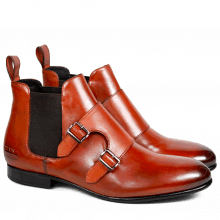 Bottines Sally 27 Crust Orange Elastic Brown HRS