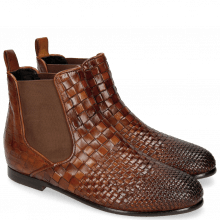 Bottines Lina 2 Interlaced Tan