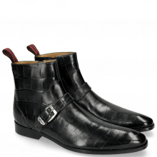 Bottines Elvis 54 Turtle Petrol Sword Buckle