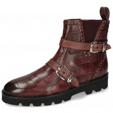 Bottines Susan 54 Turtle Wine Palermo Wine