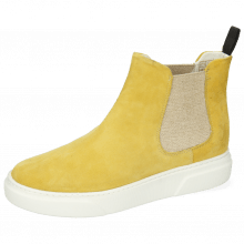 Bottines Hailey 2 Parma Suede Sun Flower Elastic Lino