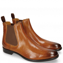 Bottines Clint 7 Tan Elastic Brown RS Blue