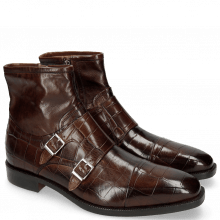 Bottines Jeff 33 Turtle Dark Brown