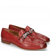 Mocassins Clive 16 Pisa Ruby Strap French Trim