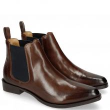 Bottines Marlin 4 Brown Elastic Navy