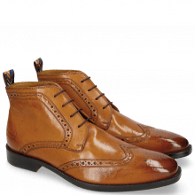 Bottines Jeff 7  Remo Cognac Loop Peru RS Brown