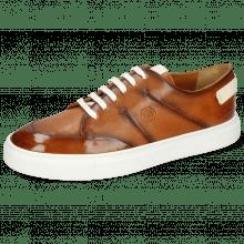 Sneakers Harvey 15 Monza Tan Shade Mogano Patches
