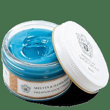 Cirage & lait Blue Turquoise Cream Premium Cream Blue Turquoise
