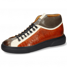 Sneakers Harvey 13 Ostrich Stone Guanna Satellite Vegas Crock White Tibet Nappa