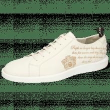 Sneakers Newton 11 Flex White Writing Crown