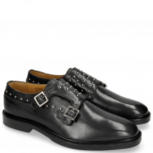 Monks Katrin 1 Black Rivets Nickel