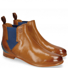 Bottines Selina 39 Pisa Tan Strap Mid Blue