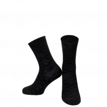 Chaussettes Carlie 1 Crew Socks Black Blue