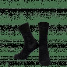 Chaussettes Charlie 1 Crew Socks Black Blue