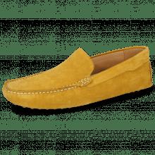Mocassins Nelson 1 Suede Pattini Yellow
