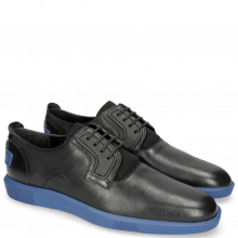Sneakers Newton 1 Franky Black Tongue Lycra Black