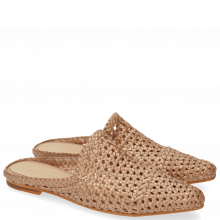 Mules Joolie 14 Mesh Woven Rame