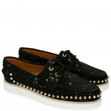 Mocassins Ally 1 Black Dots Multi