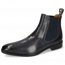 Bottines Lance 5 Navy Elastic Navy Patch