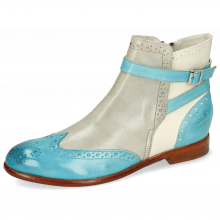 Bottines Selina 25 Vegas Turquoise Oxygen White Mermaid