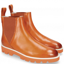 Bottines Susan 76 Vegas Orange Elastic Orange
