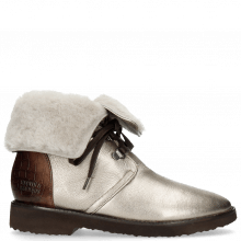 Bottines Greta 1 Talca Pewter Crock Chestnut
