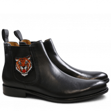Bottines Erol 33 Crust Black Elastic Black Patch Tiger HRS