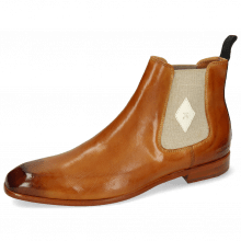 Bottines Elyas 5 Imola Tan Patch