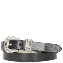 Bracelets Ines 1 Black Buckle Nickle