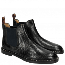 Bottines Susan 10 Crock Black Loop Peru