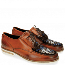 Derbies Kelly 9 Baby Brio Orange Suede Mid Brown