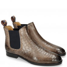 Bottines Susan 10 Venice Crock Stone Loop Peru