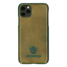 Coque iPhone Eleven Pro Max Vegas Olive Shade Bottle Green