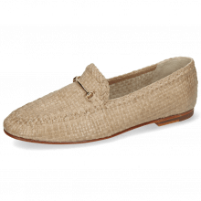 Mocassins Aviana 1 Woven Brume Trim Gold