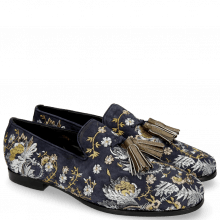 Mocassins Clive 6 Lima Midnight Embrodery Multi