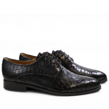 Derbies Jessy 5 Crock Black HRS