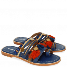 Mules Lela 5 Kid Blue LS