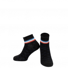 Chaussettes Lorie 1 Ankle Socks Black Blue