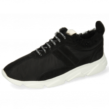 Sneakers Briana 1 Oily Suede Funky Black Sherling