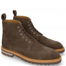 Bottines Matthew 26 Suede Brown Lining Rich Tan