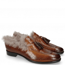 Mocassins Clint 6 Crock Tan Tassel