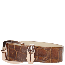 Bracelets Stark 1 Crock Tan Sword Buckle