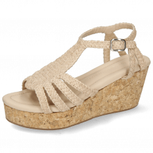 Sandales Hanna 55 Woven Off White Cork