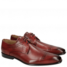 Derbies Ethan 14 Ruby Black Lining