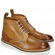 Bottines Matthew 7 Vegas Tan Eyelet