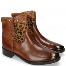 Bottines Jodie 10 Indus Wood Hairon Leo Cappu