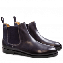 Bottines Susan 10 Crust Melanzana Elastic Purple HRS
