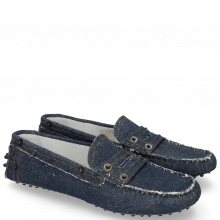 Mocassins Caroline 1 Denim Dark Blue