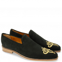 Mocassins Leonardo 7 Suede Mr Touch Black
