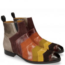 Bottines Ricky 6 Suede Pattini Multi